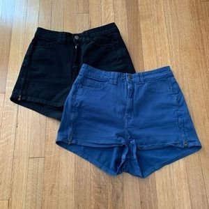 American Apparel High-rise Shorts Bundle